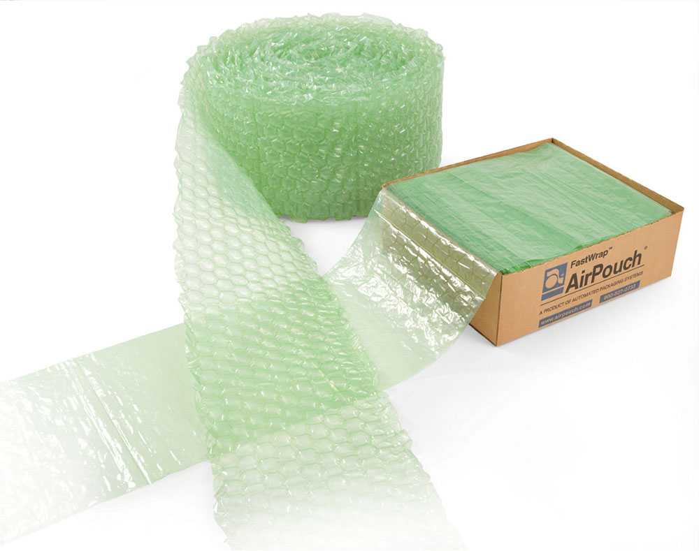 FastWrap wrapping bubbles and box