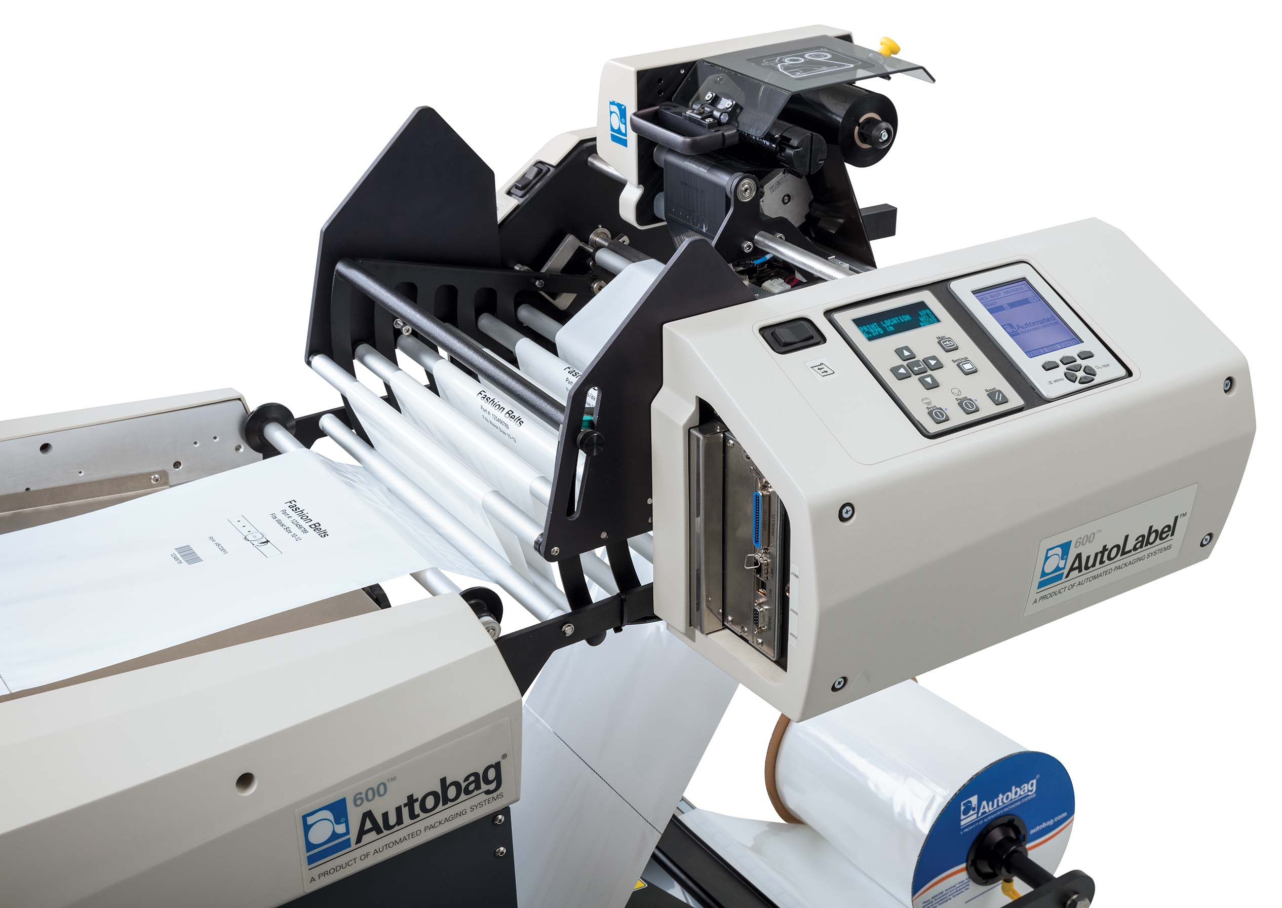 Autolabel 600 hoge resolutie printer close up