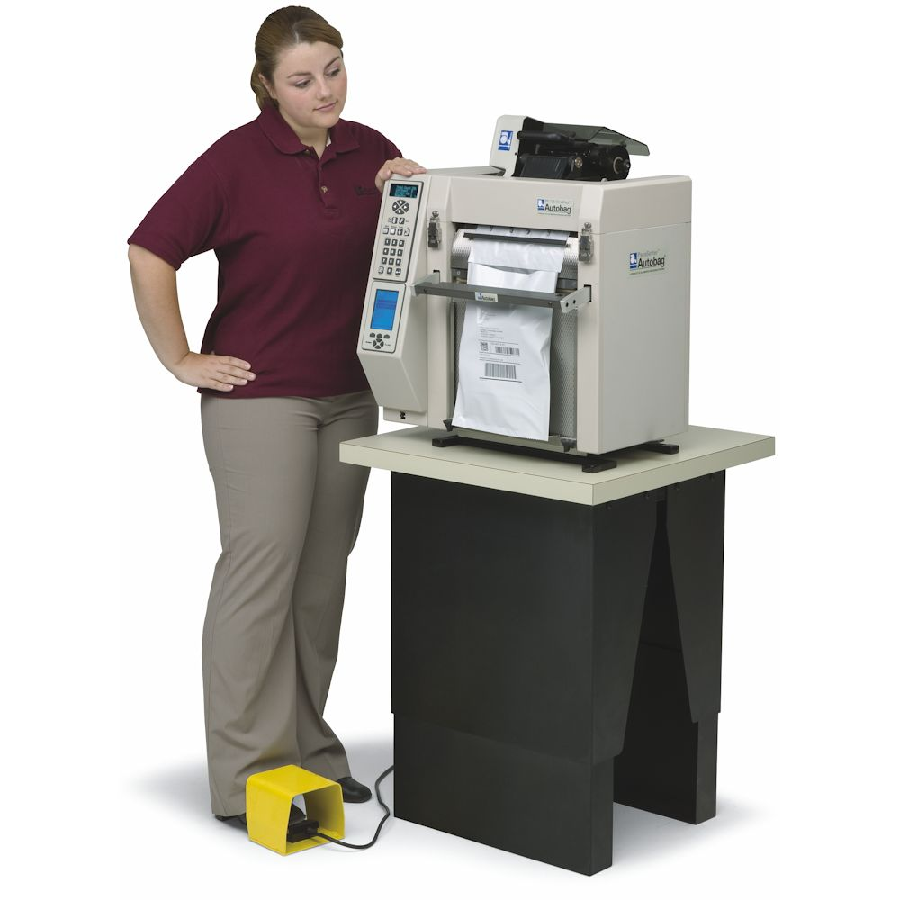 Autobag PaceSetter PS 125 Tabletop OneStep Verpakkingsmachine Stand